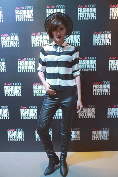 """Trang """"lạ"""" xuất hiện cá tính ở Singapore Fashion Week ảnh 5"""