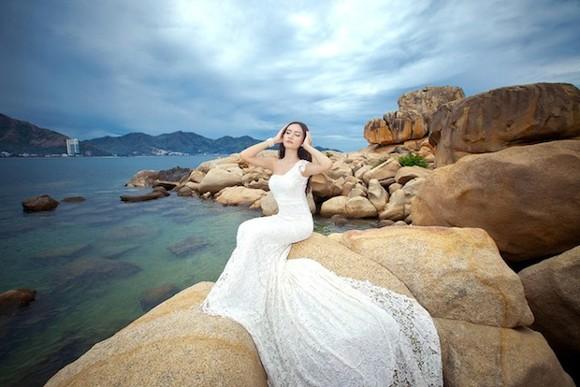 Dương Hiểu Ngọc khoe dáng ngọc như tiên nữ giáng trần ảnh 4