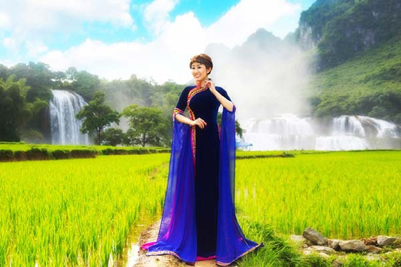 MC Kim Trang hoá thân tiên nữ miền sơn cước ảnh 7