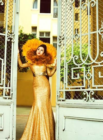 Mc Kim Trang hoá thân thành Nữ thần mặt trời ảnh 3