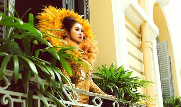 Mc Kim Trang hoá thân thành Nữ thần mặt trời ảnh 4