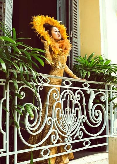 Mc Kim Trang hoá thân thành Nữ thần mặt trời ảnh 5