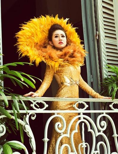Mc Kim Trang hoá thân thành Nữ thần mặt trời ảnh 6