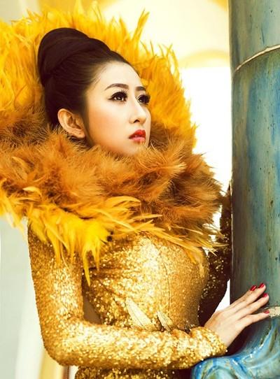 Mc Kim Trang hoá thân thành Nữ thần mặt trời ảnh 7