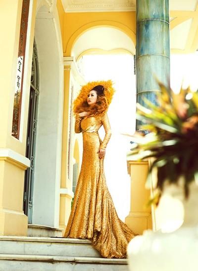 Mc Kim Trang hoá thân thành Nữ thần mặt trời ảnh 8