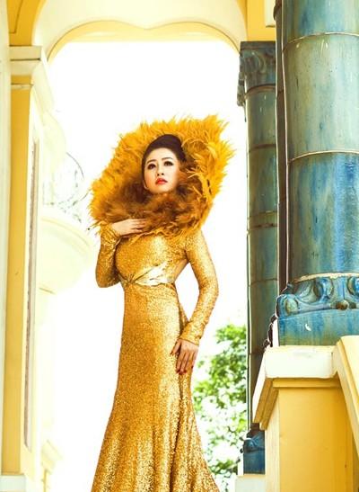 Mc Kim Trang hoá thân thành Nữ thần mặt trời ảnh 9