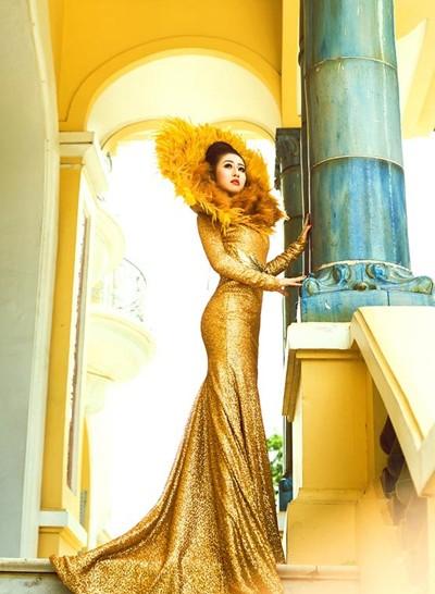 Mc Kim Trang hoá thân thành Nữ thần mặt trời ảnh 10