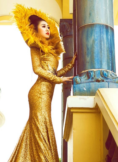 Mc Kim Trang hoá thân thành Nữ thần mặt trời ảnh 11