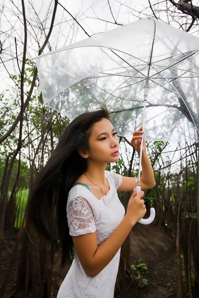 Người mẫu Xuân Thuỳ sành điệu bất chấp thời tiết ảnh 8