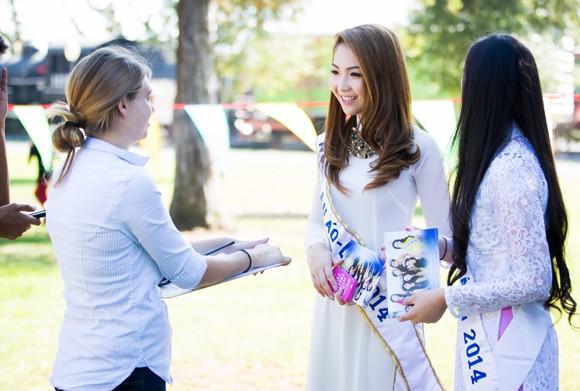Hoa hậu gốc Việt Jennifer Chung tổ chức Trung thu cho trẻ em TP. San Jose ảnh 3