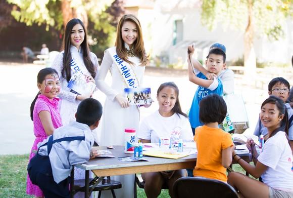 Hoa hậu gốc Việt Jennifer Chung tổ chức Trung thu cho trẻ em TP. San Jose ảnh 4