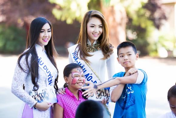 Hoa hậu gốc Việt Jennifer Chung tổ chức Trung thu cho trẻ em TP. San Jose ảnh 5
