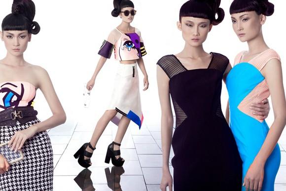 Kha Mỹ Vân, Thùy Trang và Chà Mi nổi bật với phong cách Pop Art ảnh 1