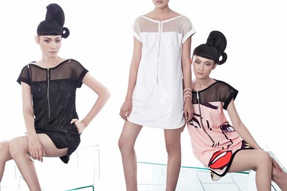 Kha Mỹ Vân, Thùy Trang và Chà Mi nổi bật với phong cách Pop Art ảnh 6
