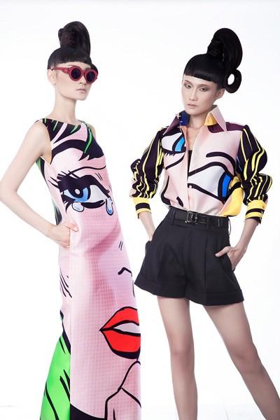 Kha Mỹ Vân, Thùy Trang và Chà Mi nổi bật với phong cách Pop Art ảnh 9