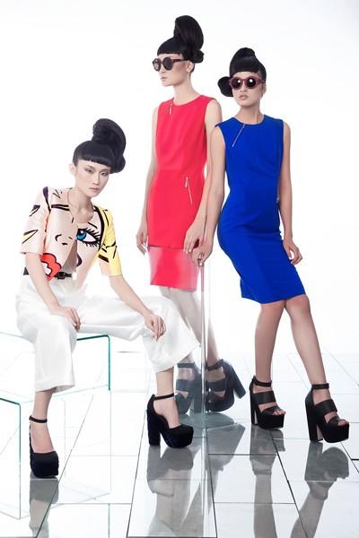 Kha Mỹ Vân, Thùy Trang và Chà Mi nổi bật với phong cách Pop Art ảnh 10
