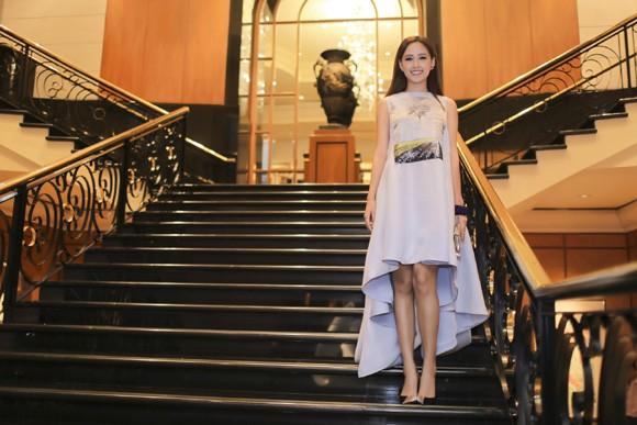 Hoa hậu Mai Phương Thuý xuất hiện nổi bật tại sự kiện lớn của châu Á ảnh 5