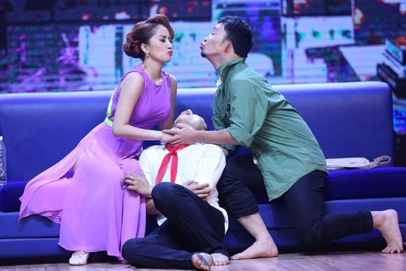 Khánh Thi, Phan Hiển, Hà Lê kết hợp trong màn trình diễn đầy cảm xúc ảnh 11