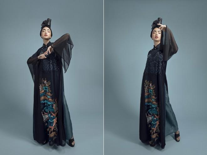 Vũ Việt Hà kể chuyện 'Sơn Tinh Thủy Tinh' bằng áo dài ảnh 2