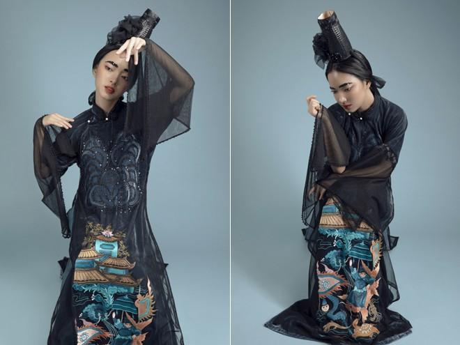 Vũ Việt Hà kể chuyện 'Sơn Tinh Thủy Tinh' bằng áo dài ảnh 3