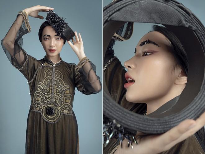 Vũ Việt Hà kể chuyện 'Sơn Tinh Thủy Tinh' bằng áo dài ảnh 6