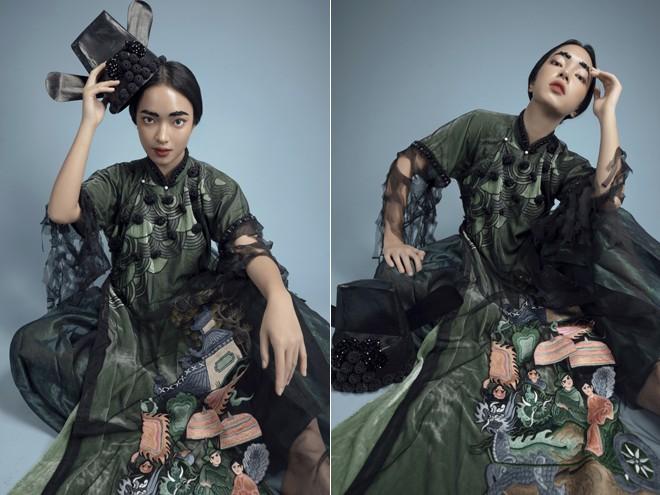 Vũ Việt Hà kể chuyện 'Sơn Tinh Thủy Tinh' bằng áo dài ảnh 8